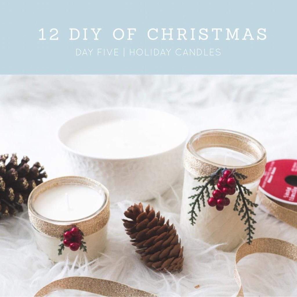 Make your home more cozy with these DIY holiday candles!hellip